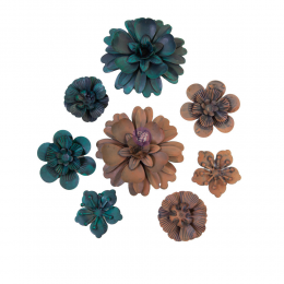 Metalowe kwiaty -...