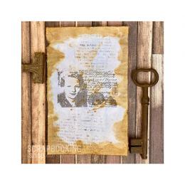 Papier Woskowany - Kobieta
