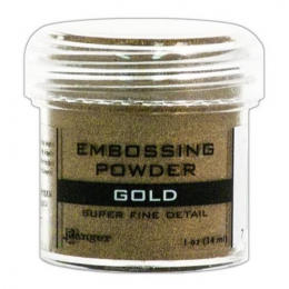 Puder do embossingu - Gold...