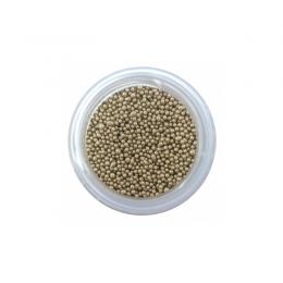 Mikrokulki 1 mm 60g złote
