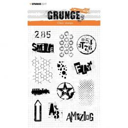 Stemple akrylowe - Grunge...