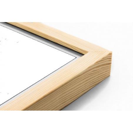 Drewniana ramka na layout 30x30cm GPJ