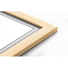Drewniana ramka na layout...