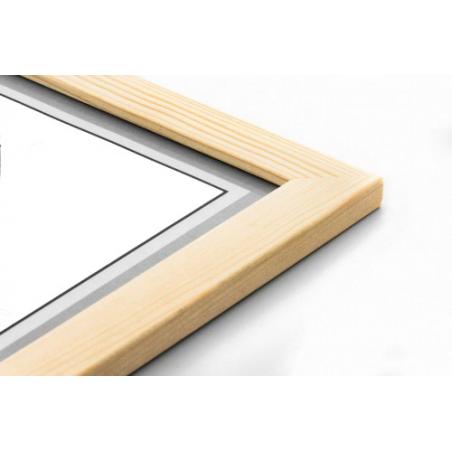 Drewniana ramka na layout 30x30cm GP