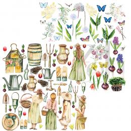 Papier 30x30 -  Lady Spring...